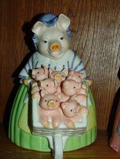 Prunella Pig Cookie Jar