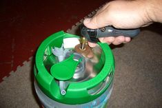 How To Reuse Your Heineken Mini-Kegs (Or... How to get homebrew into your BeerTender-brand countertop tapper/refrigerator)