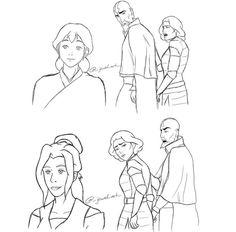 Lin Beifong, Korrasami, Air Bender, Cabbages, Legend Of Korra, Aang, Avatar The Last Airbender, Bending, Cartoons