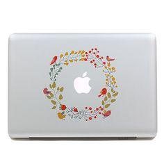 Hibiscus Laptop Sticker Bottle Macbook Decal Style 269522