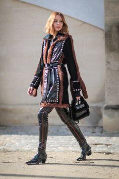 Pin for Later: Retour Sur les Meilleurs Looks Street Style de la Fashion Week de Paris Jour 5 Candela Novembre