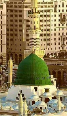The most beautiful..The most Peaceful Place in the world..MASJID E NABAWI..THE Noble Prophet Muhammad(Peace be upon Him)'s Mosque.