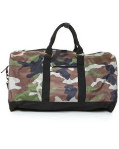 Chuck Originals | Camo Classic Duffle Bag. Get it at DrJays.com
