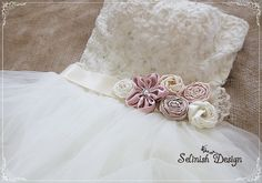 Hey, I found this really awesome Etsy listing at https://www.etsy.com/listing/152188386/wedding-vintage-satin-rosette-flower