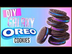 DIY Galaxy Oreos!   Easy DIY Galaxy Treats 2015