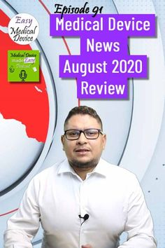 In this episode we will talk about the UDI FAQ, the new regulation for reprocessing of single use devices, the EUDAMED actor module, the new Guidances released... A lot to discuss today. The post Medical Device News – August 2020 Review (Monir El Azzouzi) appeared first on Medical Device made Easy Podcast. Regulatory Affairs, Regulatory Compliance, Health Site, Johnson And Johnson, Online Courses, Helping People, Clinic, Iso 13485