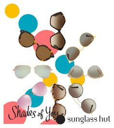 """Shades of You: Sunglass Hut Contest Entry"" by amy-ai-shuan-wu ❤ liked on Polyvore featuring Giorgio Armani, Miu Miu, Tiffany & Co., Dolce&Gabbana, Ray-Ban, Prada and shadesofyou"