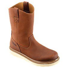 Wedge Work Boots, Pull On Boots, Sleek Look, Interior Work, Ugg Boots, Riding Boots, Uggs, Shank, Wedges