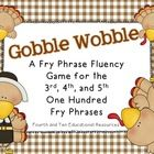 This listing is for a fun game for your students to practice the third, fourth, and fifth one hundred Fry words and phrases to build fluency.To u...