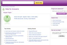 FAQ Inspiration - Yahoo (not the look but the sections for popular, top articles, and getting started) Webpage Layout, Yahoo Answers, User Experience, Get Started, This Or That Questions, Website, Articles, Apps, Popular