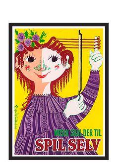 Retro Poster, Vintage Posters, Vintage Art, Vintage Travel, Litho Print, Kunst Poster, Ceramic Artists, Play, Art Decor