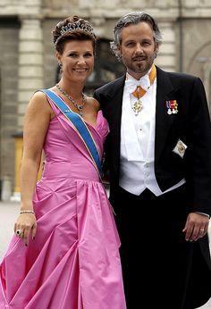 Princess Märtha Louise of Norway & Ari Behn.
