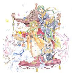 Akatsuki no Yona -- Dragon celebration!! By まう@通販受付中 on pixiv