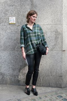 Best Street Style at Fashion Week Spring 2015 | POPSUGAR Fashion
