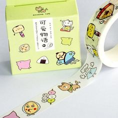 We sell beutifuly themed washi tapes. Japanese School Supplies, Cute School Supplies, Duct Tape, Masking Tape, Washi Tapes, Washi Tape Journal, Duck Tape Crafts, Cute Stationary, Japanese Stationery