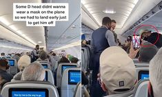 Passenger thrown off JetBlue jet for refusing to wear a Covid19 mask Farm Hero Saga, Fort Lauderdale, Mail Online, Daily Mail, Jet, Aircraft, Health, Wall, How To Wear