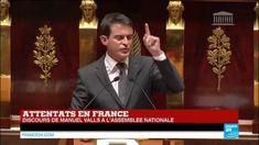 """ATTENTATS À PARIS - Le Premier ministre Manuel Valls a affirmé mardi devant l'Assemblée nationale que """"le peuple français, une fois encore, a été à la hauteur de son histoire"""", en se mobilisant en masse après la série d'attentats jihadistes qui ont fait 17 morts la semaine dernière."""