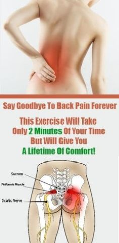 Description: Say Goodbye To Back Pain Forever: This Exercise Will Take Up Only 2 Minutes Of Your Time But Will Give You A Lifetime Of Comfort lower back pain quotes Scoliosis Exercises, Back Pain Exercises, Yoga Exercises, Sciatic Pain, Sciatic Nerve, Healthy Spine, Piriformis Muscle, Back Pain Remedies, Exercises