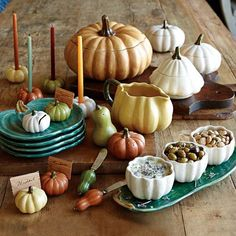 Eclectic Serveware by Williams-Sonoma Thanksgiving Tablescapes, Thanksgiving Decorations, Seasonal Decor, Christmas Decor, First Thanksgiving, Thanksgiving Celebration, Hosting Thanksgiving, Holiday Dinner, Kitchens