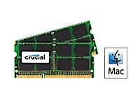 Image for Crucial 16GB Kit (2 x 8GB) DDR3L-1866 SODIMM Memory for Mac from Crucial USA