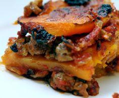 Paleo Butternut Squash Lasagna #recipe #paleo