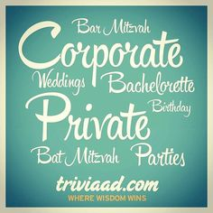 Be sure to make @TriviaADDotCom a part of your #party. Send us an email at info@triviaad.com for more information on how we can make your #event special. #Corporate #EventPlanning #Events #PopCulture #NYC #NJ #Manhattan #Corporation #TeamBuilding #Job #Business #Parties #PrivateParties #Entertainment #HolidayParty #Host #Bachelorette #Weddings #Catering #Birthday #BatMitzvah #BarMitzvah #Jobs #Economy #America #Christmas #Fandom #EventPlanner by triviaaddotcom. jobs #catering #business…