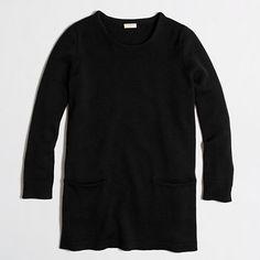 J.Crew Factory - Factory pocket tunic sweater