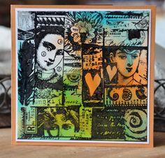 Paper Artsy Lynne Perrella stamps !