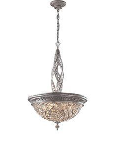 Artistic Lighting Renaissance 6-Light Pendant Ceiling Fixture, Sunset Silver, http://www.myhabit.com/redirect/ref=qd_sw_dp_pi_li?url=http%3A%2F%2Fwww.myhabit.com%2Fdp%2FB000RPZG0C