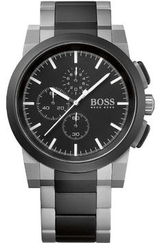 Hugo Boss Watch Mens Chronograph #bezel-fixed #bracelet-strap-black-pvd #brand-hugo-boss #case-material-black-pvd #case-width-46mm #chronograph-yes #classic #delivery-timescale-call-us #dial-colour-black #gender-mens #movement-quartz-battery #new-product-yes #nozama #official-stockist-for-hugo-boss-watches #packaging-hugo-boss-watch-packaging #subcat-hugo-boss-mens #supplier-model-no-1512958 #warranty-hugo-boss-official-2-year-guarantee #water-resistant-50m
