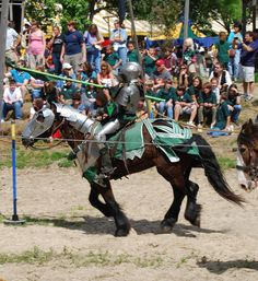 Jousting - Maryland's state sport!  There was a Jousting field off Jarrestville Pike near the Hartford County/ Baltimore County line. G.S.
