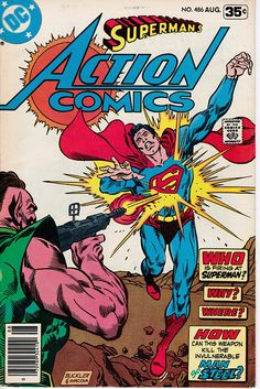 Action Comics 486  August 1978 Issue  DC Comics  Grade VG