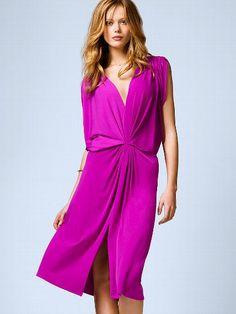 NEW!  Double-plunge Jersey Dress #VictoriasSecret http://www.victoriassecret.com/clothing/spring-dresses/double-plunge-jersey-dress?ProductID=101186=OLS?cm_mmc=pinterest-_-product-_-x-_-x