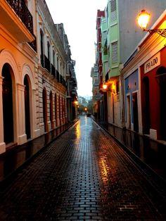 Old San Juan from Puerto Rico Historic Building Drawings Society