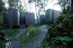 River Sauna,Courtesy of Jensen & Skodvin Architects