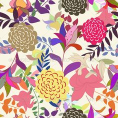 Add-ons - Floral Seamless Pattern Set | GraphicRiver