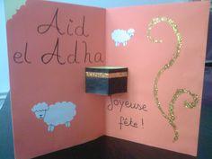 carte de l'Aïd el-adha