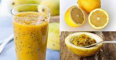 Fantástico! Os benefícios do suco de limão e maracujá - # #Aliviarestresse…