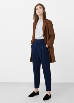 37 Pretty Work Attire with Trousers for Women Based on your office culture, it ma. 37 Pretty Work Attire with Trousers for Women Based on your office culture, it ma. Mode Outfits, Office Outfits, Fashion Outfits, Office Attire, Fashion Hair, Fashion Tips, Minimal Fashion, Work Fashion, Feminine Fashion