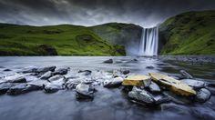 500px / Waterfall Skogafoss by Jose Antonio Hervas - Iceland south coast