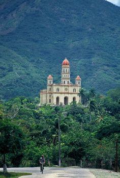 Caridad del Cobre , Shrine and Sanctuary in Santiago de Cuba municipality, Oriente province. Cuba