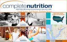 Complete Nutrition (239)573-0594, 1860 Northeast Pine Island Road #215, Cape Coral, FL 33909