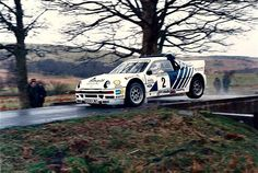 Welsh Rally 1986 Stig Blomqvist.  #wrc #wrcofficial #rally #rallye #ford #fordrs200 #rs2oo #groupbrally #1986 #rallycar #worldrally