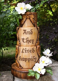 Fairy tale wedding cake