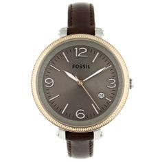 Fossil Women's Stainless-Steel Heather Watch | Overstock.com Shopping - The Best Deals on Fossil