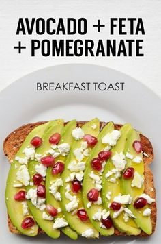 Energy-Boosting Breakfast Toast | 21 Easy And Healthy Meals For One