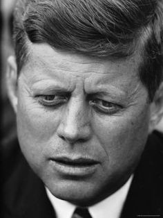 Photographic Print: Senator John F. Kennedy During Press Conference at Gracie Mansion by Howard Sochurek : 24x18in