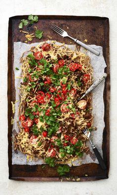 Veggie Recipes, Baking Recipes, Dinner Recipes, Dinner Ideas, Salty Foods, Tasty, Yummy Food, Bon Appetit, Vegetable Pizza