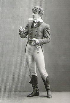 Fokine as René de Beaugency in  'Le Pavillon d' Armide' - c. 1906