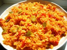 Delicious and wholesome bulgur wheat with onions, tomatoes and peppers – a meal on its own! Delicious and wholesome bulgur wheat with onions, tomatoes and peppers – a meal on its own! Armenian Recipes, Turkish Recipes, Ethnic Recipes, Bulgur Recipes, Rice Recipes, Healthy Eating Recipes, Vegetarian Recipes, Cooking Recipes, Risotto